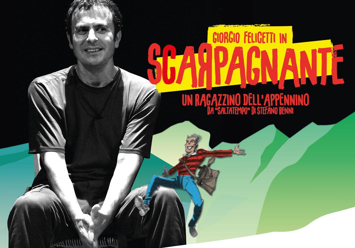 Giorgio Felicetti in SCARPAGNANTE